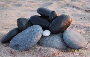 hot stones beach